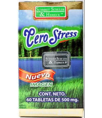 Cero Stress 60 Tabletas - Vida Salud