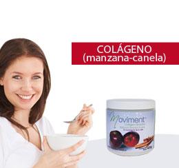 colágeno hidrolizado en polvo Manzana Canela