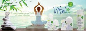 Desodorante Vital Green